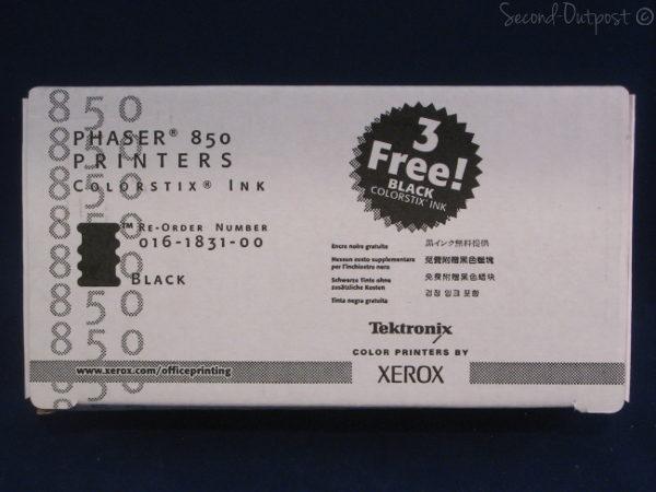 xerox 850 ink box