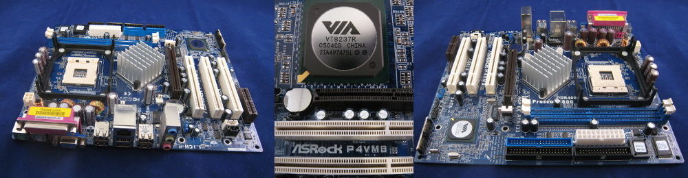 p4vm8 asrock motherboard