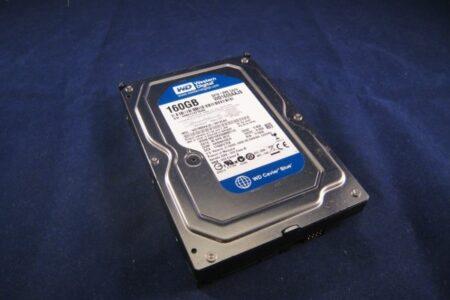 WD1600AAJS Western Digital 160GB SATA 3.5 Hard Drive